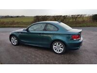 BWM 2008 (58 PLATE) COUPE 120d SE 2dr *NAV, CRUISE, PDC, B'TOOTH 1/2 LEATHER*