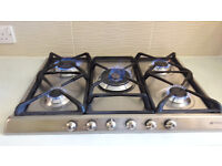 SMEG 5 GAS HOB - STAINLESS STEEL - £100 PO8 COLLECTION