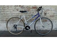 Ladies Raleigh Pioneer Classic hybrid commuter bike
