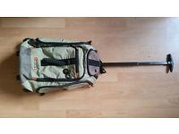 Antler 55cm Cabin Trolley Backpack Rucksack Hand Luggage Suitcase Bag wheels & shoulder straps