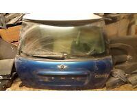 Mini Cooper S 2009 Boot lid