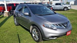 2012 Nissan Murano SL | LEATHER | MOONROOF | AWD | JUST TRADED | Cambridge Kitchener Area image 2
