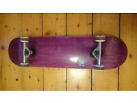 Enuff skateboard and pads (NEARLY NEW) - REDUCED!