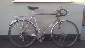 Raleigh touring bicycle (531st tubing)