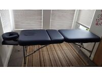 Portable Massage table - New Used lightweight and portable massage table