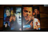 24 DVDs Seasons 4 & 5 box sets
