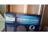New TEVION Digital Mini Satelite System Freeview