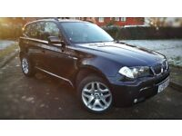 FINANCE FROM £29PW 2006 06 Bmw X3 3.0 30d M sport AUTO 86k miles Stunning Condition FSH Huge Spec!!