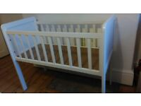 White Mothercare Hyde Crib
