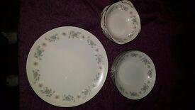 Wellesley noritake plates...5 of each.