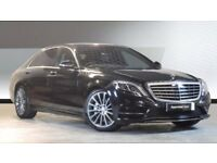 Professional chauffeur with S class Mercedes AMG line available for airport transfers or weddings