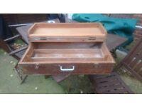 Vintage carpenters toolbox