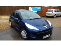 LOW MILEAGE PEUGEOT 207 1.4 L & WARRANTY INCLUDE ON SALE