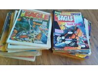 Eagle Magazines collectables, 124 copies 1982,83,84 gd/and v.g condition.