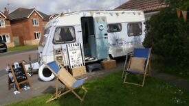Vintage themed party/catering caravan