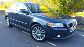 VOLVO S40 SE LUX 2.0D DIESEL#2008 58REG # 6 SPEED MANUAL# HEATED FULL LEATHERS#not VW,FORD,VAUXHALL,