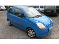 THIS IS A LATE 05 (55) MATIZ 5 DOOR WITH ONLY 59 K MILES..CENTRAL LOCK..SERV HISTORY..LOW INSURANCE