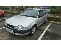 Toyota corolla 1.3 with ac picnic starlet Peugeot 307 automatic nissan almera micra