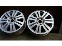 2 Ford 6.50Jx16H2 Alloy wheels