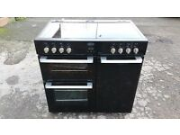 BELLING DB490E 90cm ELECTRIC RANGE COOKER IN GOOD CONDITION & WORKING ORDER
