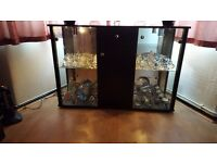 GLASS DISPLAY UNIT / SIDEBOARD