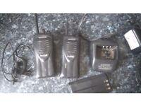 2 Kenwood protalk radios