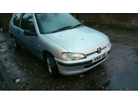CHEAP 106 PEUGEOT 1.1 LITRE CHEAP INSURANCE DRIVES EXCELLENT LONG MOT BARGAIN OFFER!!!!!!!!!!!!!!!!!
