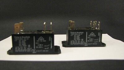Potter Brumfield Carrier Hn61pc002 T92s7d22-22 Electric Heater Relay Lot Of 2
