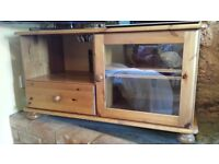 Pine TV Cabinet in good condition