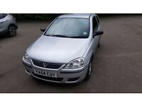 Vauxhall Corsa for sale 2005/54 silver