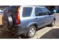 Honda crv ivetec low mileage blue ac