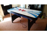 AIR HOCKEY TABLE IN GOOD WORKING CONDITION