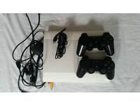 Ps3 slim 500GB. with original controllers.