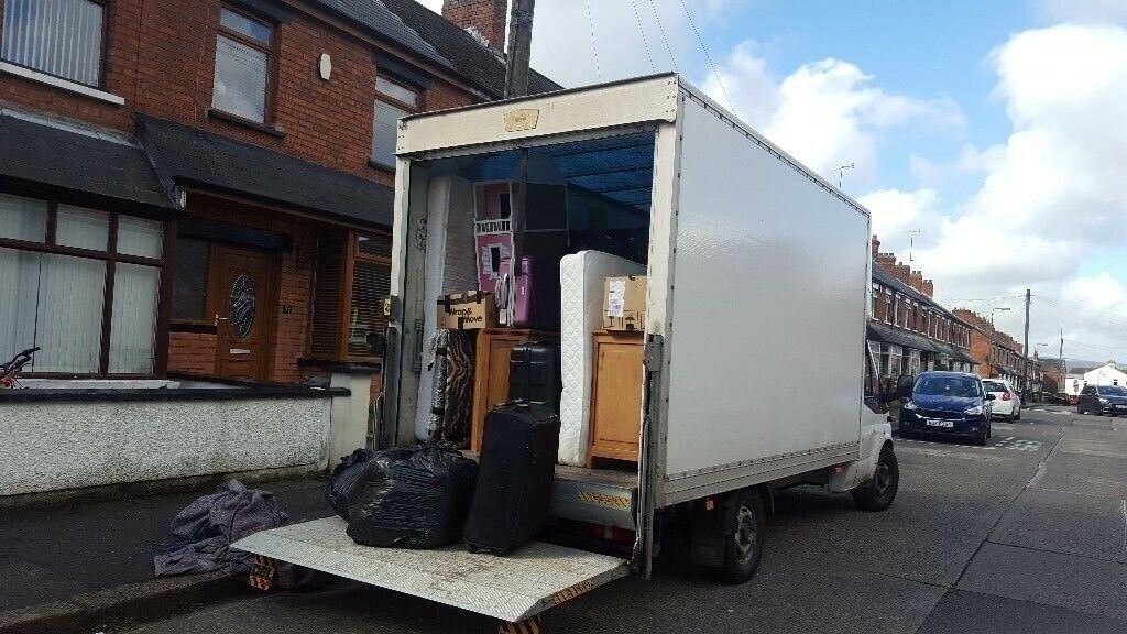 1419fbb237 ... UK MOVING - MAN   VAN HOUSE REMOVALS LUTON TRUCK HIRE SOFA BED FRIDGE  DELIVERY  MOVING. East Ham