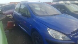 2003 PEUGEOT 307 STYLE 1.4 PETROL BREAKING FOR PARTS ONLY POSTAGE AVAILABLE NATIONWIDE