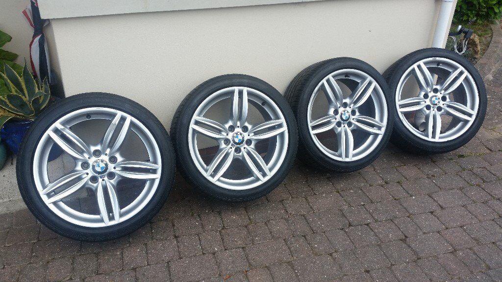 bmw 5 series f10 f11 standard genuine alloy wheels 19 inch m sport in taunton somerset gumtree. Black Bedroom Furniture Sets. Home Design Ideas