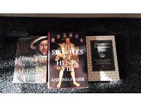 3 King Henry VIII literature books
