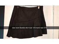 black size 18 skirt