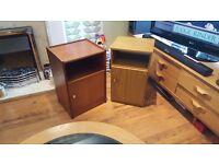 Vintage Retro Bedside Cabinet Bathroom Cabinet Hall Table Side Tables
