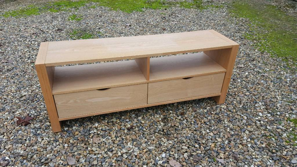 212c08a8c0a4 John Lewis solid wood tv unit with drawers | in Welwyn Garden City ...