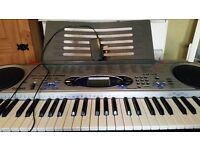 casio lk-43 keyboard with stand