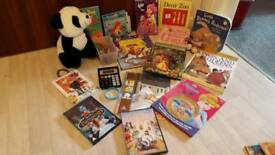 Books and DVDs for kids