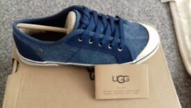 Genuine UGG Boys pumps size 3