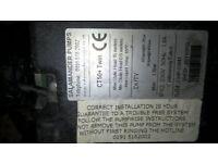 Used Salamander CT50+ Twin shower pump