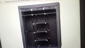 Self assembly light weight wardrobes