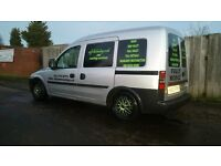 Vauxhall combo 1.7di window cleaning valeter valeting detailing car wash