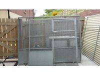 8x6 dog pen with insulated dog box