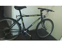 Peugeot black mountain bike