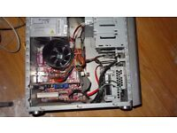 ADVENT COMPUTER DESKTOP TOWER PC INTEL CORE 2 DUO 300GB HD 2GB RAM SOLID CASE