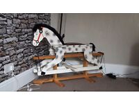 Wooden rocking horse for sale £50 ono buyer to collect